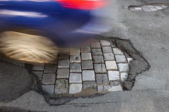 Mehr Frostschäden auf Sachsens Straßen