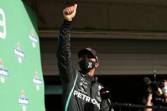 Hamilton überholt Michael Schumacher