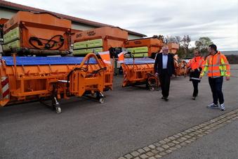 Aktion Schneeflocke: So funktioniert der Winterdienst in Mittelsachsen