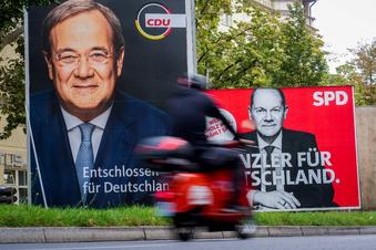 SPD in neuer Umfrage nur noch einen Punkt vor Union