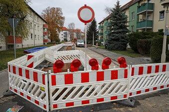 Bausaison in Riesa