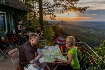 Über die Plateaus der Tafelberge