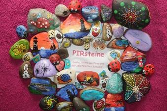 Bunte Steine für mehr Freude