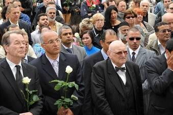 Dresdner erinnern an rassistischen Mordanschlag
