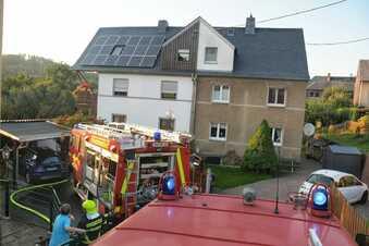 Feuerwehr zu Schuppenbrand alarmiert