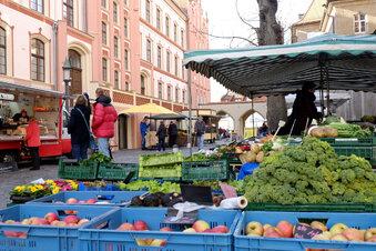 Grünmarkt in Meißen wieder komplett