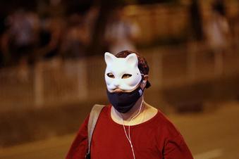 Hongkong verhängt Vermummungsverbot