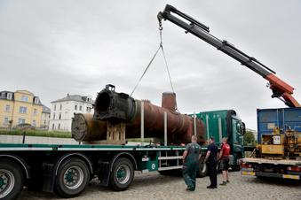 Neuer Kessel für die Dampflok