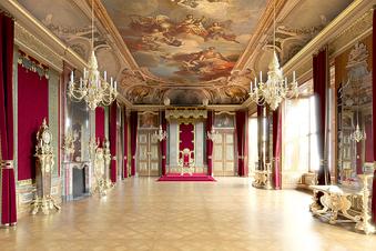 Sächsische.de öffnet exklusiv die Paradesäle im Schloss