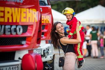 So hat Radebergs Feuerwehr Geburtstag gefeiert