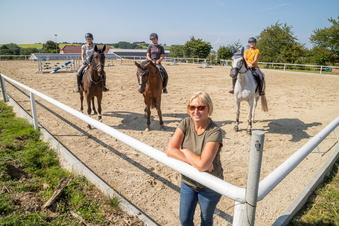 Kodersdorfer reiten ihre Pferde nach Corona wieder fit