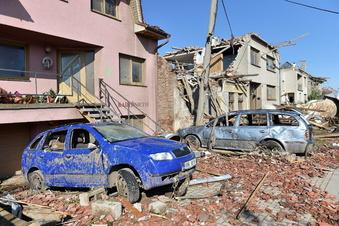 Spendenaufruf für Tornado-Opfer