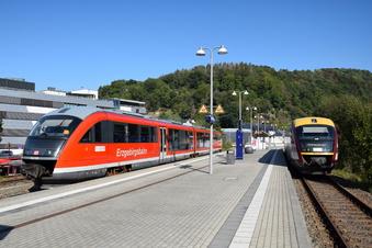 Schienenersatzverkehr ab Glashütte