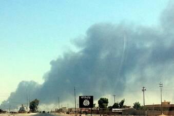 US-Kampfjets über dem Irak