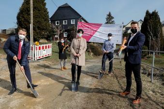 Oppach: Telekom startet Glasfaser-Ausbau