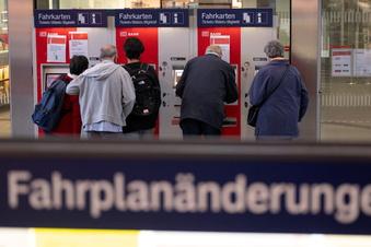 Bahnstreik: Auch am Wochenende massive Einschränkungen