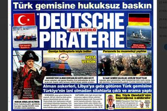 Türkei sieht Schiffskontrolle als Piraterie
