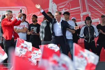 So feiert Leipzig sein RB - trotz Niederlage