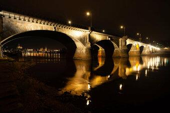 Wo Dresdens Elbebrücken strahlen