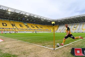 Das Problem mit dem Rasen im Dynamo-Stadion