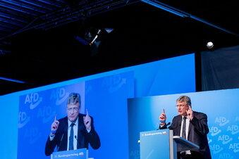 Sächsische AfD kritisiert Jörg Meuthen