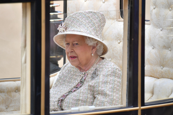 Geburtstagsparade für die Queen