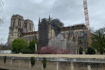 Notre-Dame: Gefährliches Gerüst abgebaut