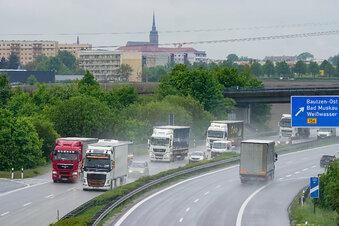 A 4: Abfahrt Bautzen-Ost wieder frei