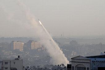 200 Raketenauf Israel abgefeuert