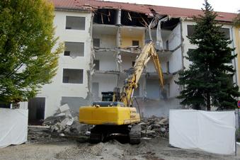 Drei weitere Wohnhausabrisse in Hoyerswerdas Neustadt