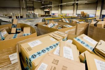 Amazon baut am Leipziger Flughafen