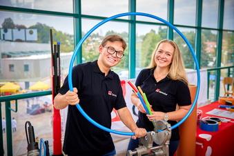 Pirna: Wie Firmen um junge Leute werben