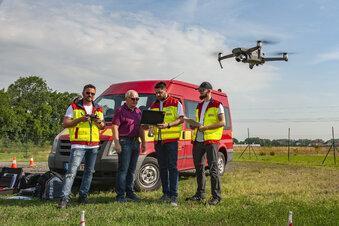 Mit Drohnen gegen den qualvollen Mähtod
