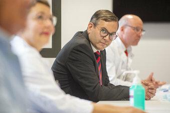 Neuer Chefarzt am Elblandklinikum begrüßt