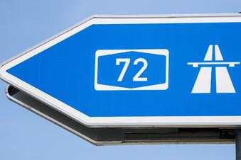 Unfallserie legt Verkehr auf A72 lahm