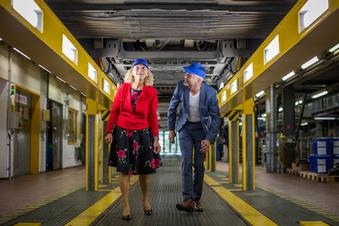 Neue Straßenbahn: Dresdner Verkehrsbetriebe bauen um