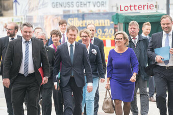 CDU, Grüne und SPD beginnen Sondierungen