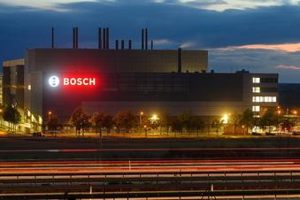 Bosch-Eröffnung in Dresden mit Merkel