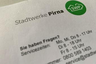 Stadtwerke Pirna warnen vor Betrügern