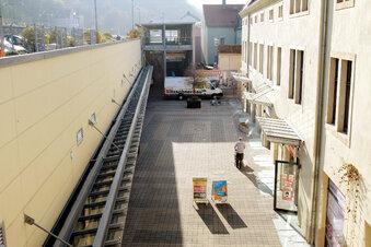 Stillstand in den Neumarkt-Arkaden