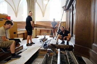 Coronafall bei Jehmlich-Orgelbau