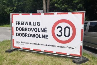 Freiwillige Tempo-30-Zone in Kirschau