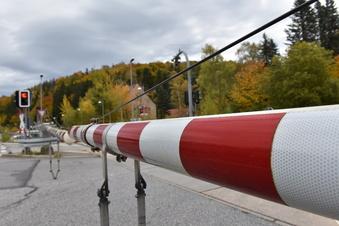 Störung am Bahnübergang in Lauenstein