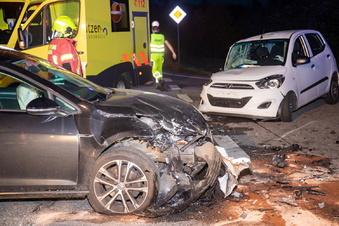 Ohorn: Unfall mit zwei Verletzten