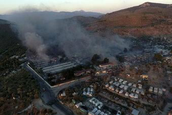 Der Brand, das Lager und das Leid in Moria