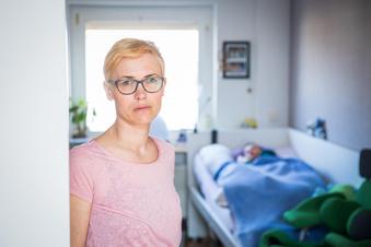 So kämpft die Mutter für ihr unheilbar krankes Kind