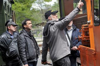 Waldbahner lassen mit Zugfahrt Dampf gegen Corona ab