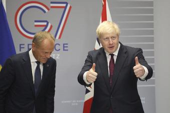 Johnson gehen die Brexit-Ideen aus