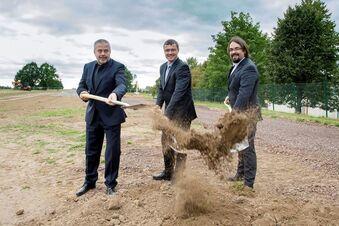 Baustart fürs Wilsdruffer Gymnasium