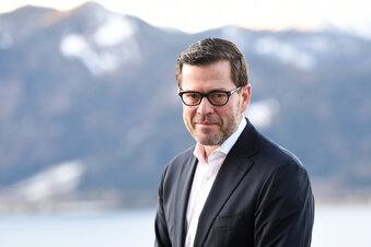 Auch Guttenberg warb für US-Firma